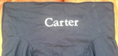 Premonogrammed Regular Size Ugly-Where Chair - Carter -  LM161 - Navy