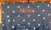 Premonogrammed Regular Size Ugly-Where Chair - Miles-  L173 - Navy Stars
