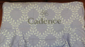 Premonogrammed Regular Size Ugly-Where Chair - Cadence  - L261 - Lavender Lattice
