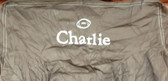 Premonogrammed Regular Size Ugly-Where Chair - Charlie  - L467 - Chocolate