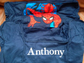 Premonogrammed Regular Size Ugly-Where Chair - Anthony  - L445 - Navy Spiderman
