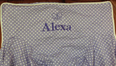 Premonogrammed Regular Size Ugly-Where Chair - Alexa - L574 - Lavender Mini Dot
