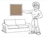 Pottery Barn Comfort Sofa Slipcover Set - Box Edge Cushions - Walnut Twill - locstg
