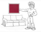 Pottery Barn Basic Sofa Slipcover Set - Paprika Twill - locstg