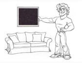"""Pottery Barn Charleston 86"""" Studio Sofa Slipcover Set - Fig Velvet - locstg"""