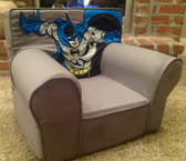Ugly-Where Chair Slipcover - Regular Size - Free Personalization - Gray Batman