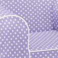 Ugly-Where Chair Slipcover - Regular Size - Free Personalization - Lavender Mini Dot