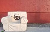 Ugly-Where Chair  - Regular Size - Free Personalization - Free Shipping- Boba Fett Star Wars Tan