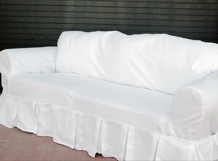 Loosefit Square Cushion Boxpleat Slipcover