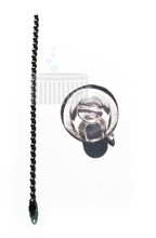 Ball Chain and Suction Cup used with DELZONE and DEL Ozone Portable Purifiers - ONE LEFT!