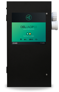 DEL AOP 50 (Previously known as Solar Eclipse) Inground Swimming Pool Ozone  and UV Generator (Parts Bag Included) - for Pools to 50,000 Gallons