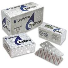 LaMotte Cyanuric Acid TesTabs, Code 6996A-H (50 Tabs)