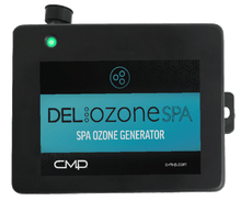 NEW!  DEL Ozone Spa to 1,000 Gallons with Hot Springs Flag Connectors, Universal Voltage