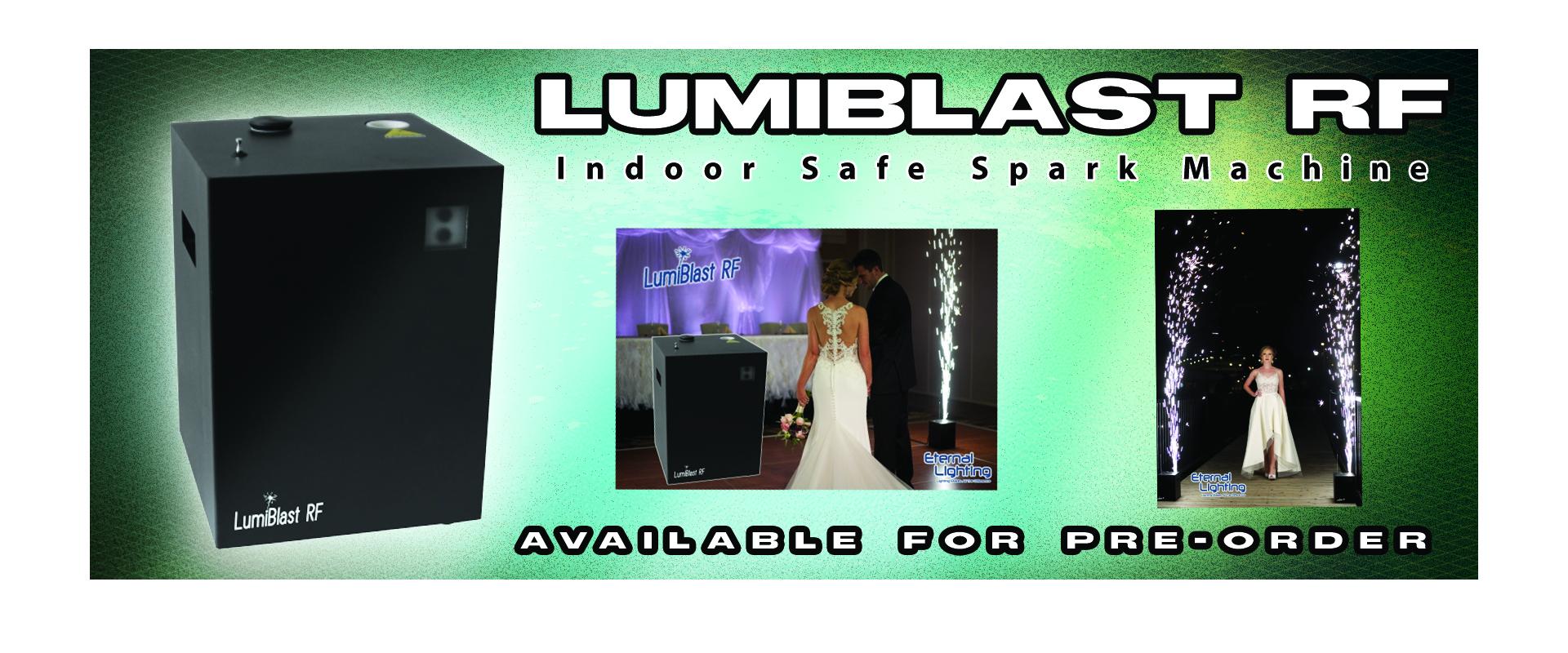 Pre-Order Lumiblast RF Spark Machine Today