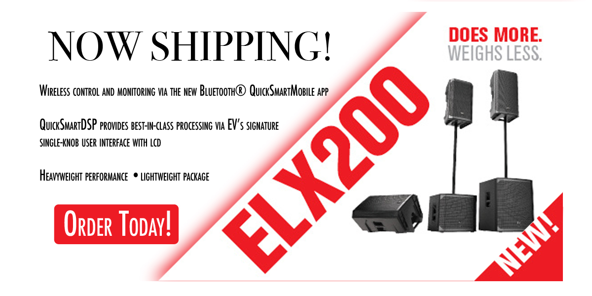 Now shipping ELX200