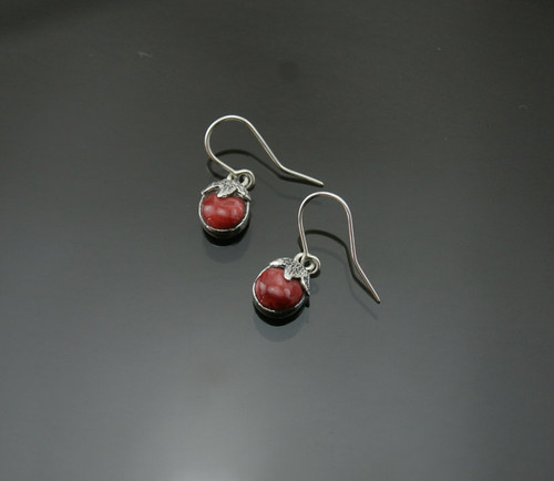 Nine50 Peruvian Silver and Spondylus Shell Earrings