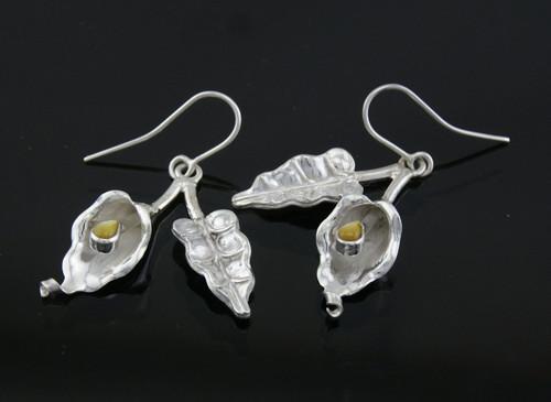 Nine50 Silver Lily Earrings