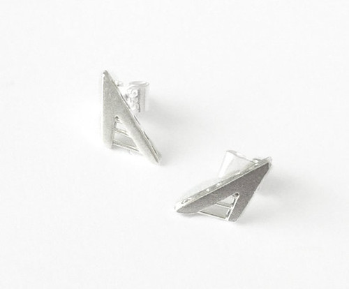 Nine50 Calatrava Silver Earrings