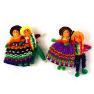 Worry Doll Brooches