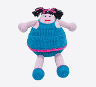 Hand Knitted AMI Doll -  100% Cotton
