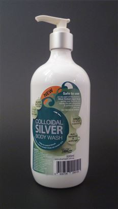 Colloidal Silver 500ml Face & Body Wash