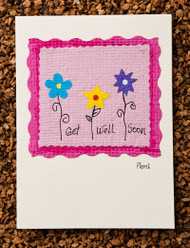 Get Well Soon Pink Card