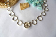 Circles Silver Necklace