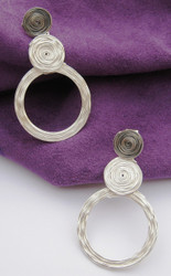 New! Swirl Earrings