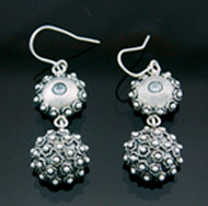 Nine50 Silver & Crystal Earrings