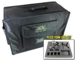 (Air) P.A.C.K. Air Pluck Foam Load Out (Black)