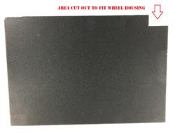 Tripoli/Nimitz Black Label Pluck Foam Tray with Wheel Etchings (TNW)