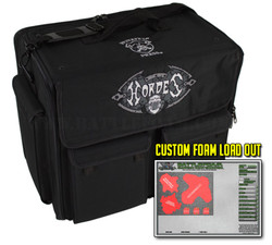 (Hordes) Privateer Press Hordes Bag Half Tray Custom Load Out (Black)