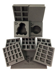 (Hordes) Privateer Press Hordes Trollbloods Half Tray Kit (PP.5)