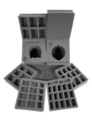 (Warmachine) Privateer Press Warmachine Protectorate of Menoth Half Tray Kit (PP.5)