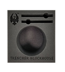 (Cygnar) Trencher Blockhouse Battle Engine Foam Tray (PP.5-3.5)