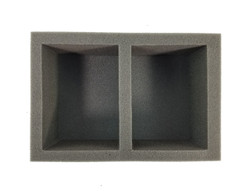 Double POP Foam Tray (BFS-3.5)