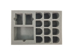 Adeptus Titanicus 12 Knight and Cards Foam Tray (BFS-2)