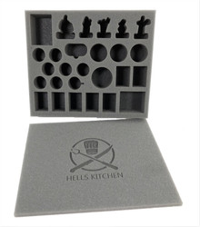 Guild Ball Hells Kitchen Foam Kit (BFB)