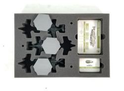 (Aeronautica Imperialis) Dakkajet Any Build Foam Tray with Flight Stems Glued to Base (BFS-1.5)