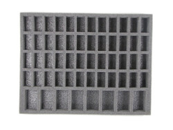 This kit comes with two Chaos Space Marine Troop Trays in 1.5 inch thick.