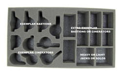 Protectorate of Menoth Bastions and Cinerators Foam Tray (PP-2)