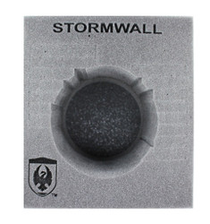 (Cygnar) Stormwall Colossal Foam Tray (PP.5-6)
