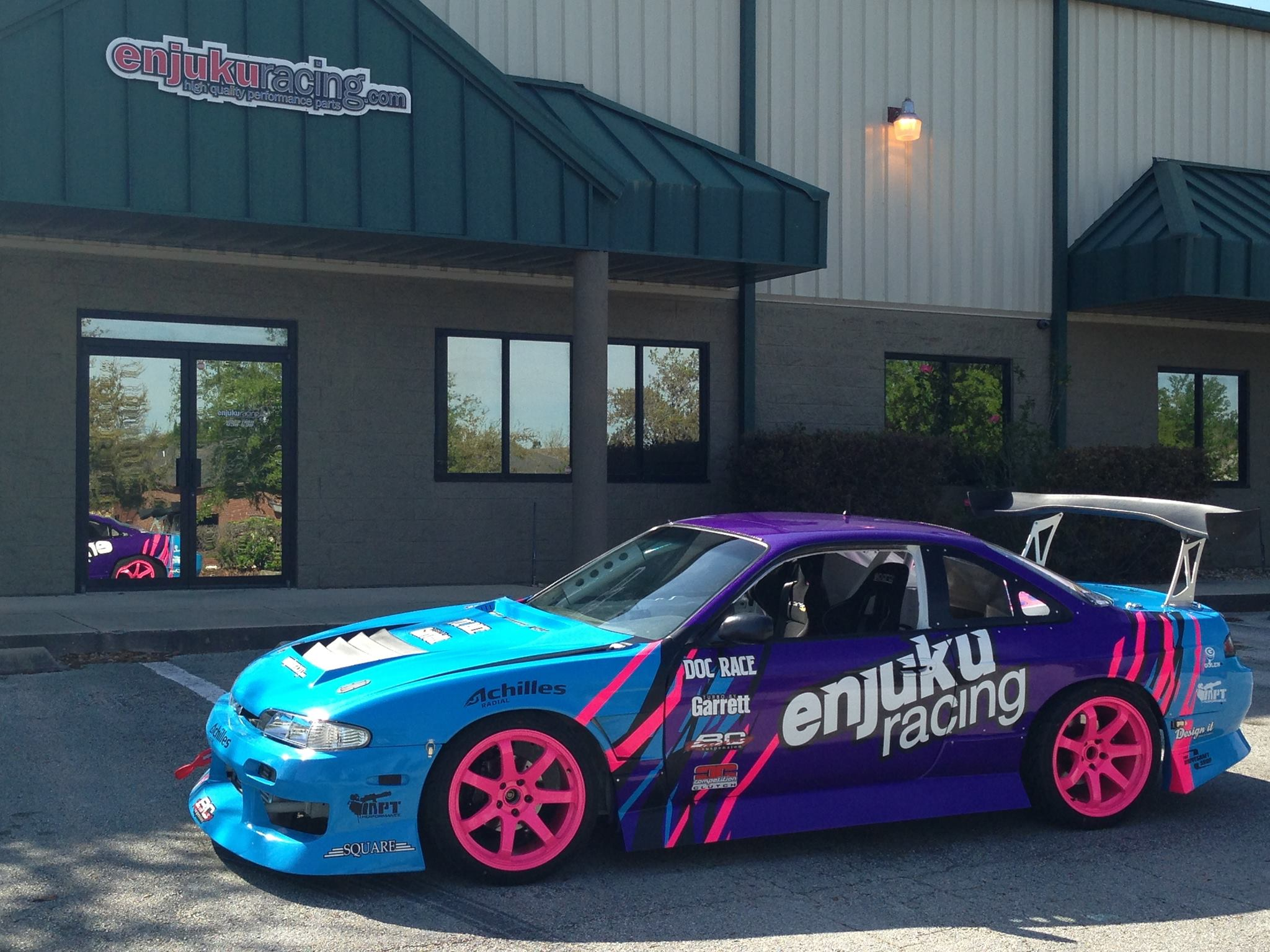 Enjuku Racing Parts To Be Title Sponsor For Alec Hohnadell