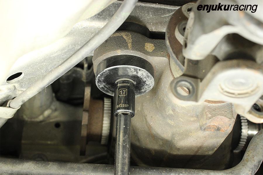 Tech Doc G35 350z Differential Removal Enjuku Racing