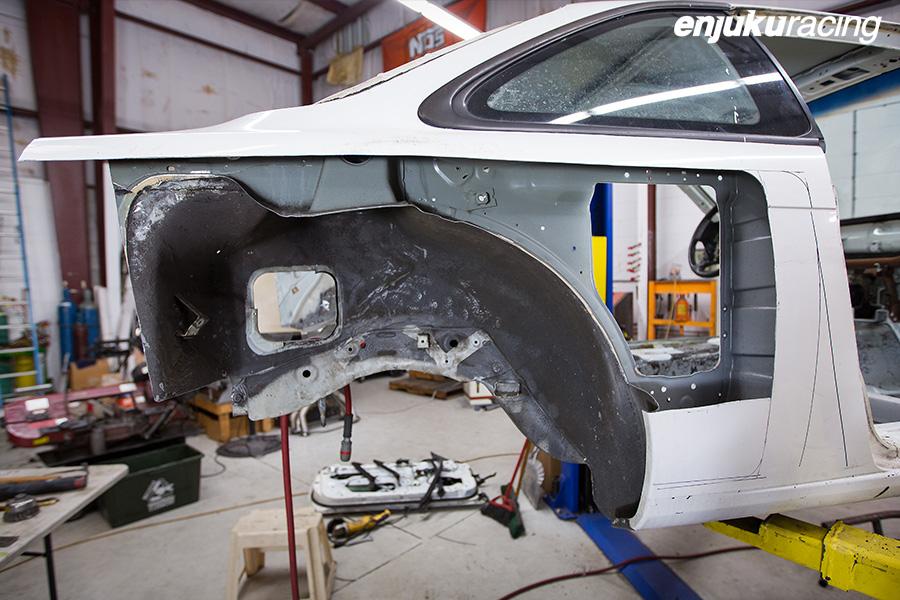 Drift Car Wiring Harness : Kevin lawrences new s formula drift pro build enjuku