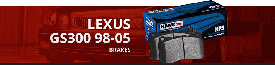 LEXUS GS300 98-05 BRAKES