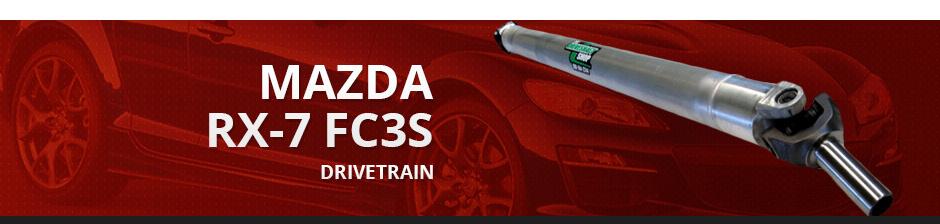 MAZDA RX7 FC3S DRIVETRAIN