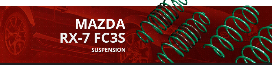 MAZDA RX7 FC3S SUSPENSION
