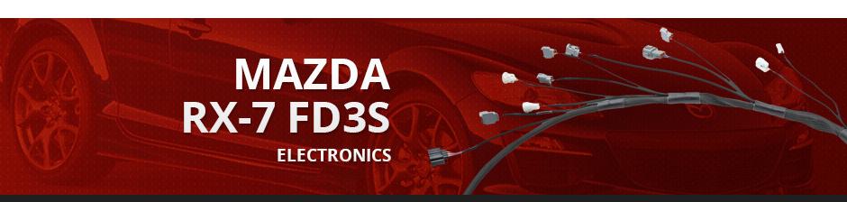 MAZDA RX7 FD3S ELECTRONICS