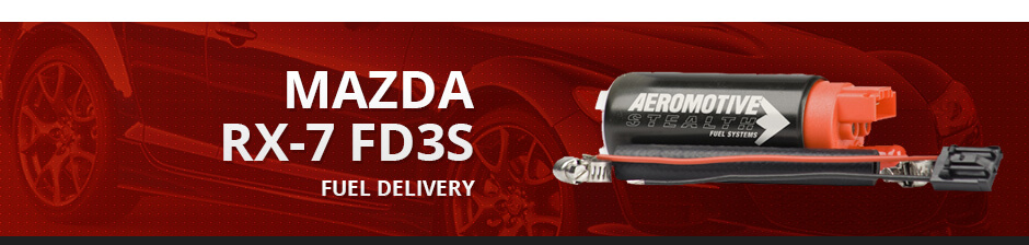 MAZDA RX7 FD3S FUEL DELIVERY